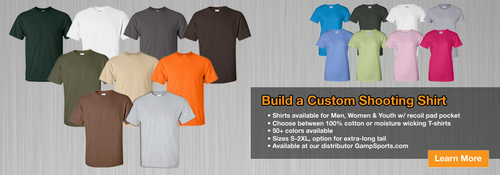 Custom Shooing Shirts