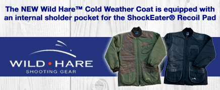 Wild Hare Coat fits ShockEater Recoil Pad