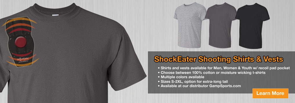 ShockEater Shooting Shirts with Pad