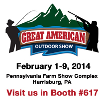 2014-Great-American Outdoor Show -Booth 617