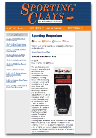 ShockEater-in-Sporting-Clays-Magazine