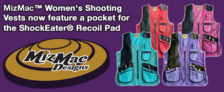 MizMac-Womens-Vests and ShockEater Recoil Pad