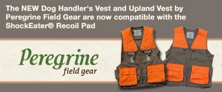 Peregrine-Hunting-Vests-ShockEater Recoil Pad