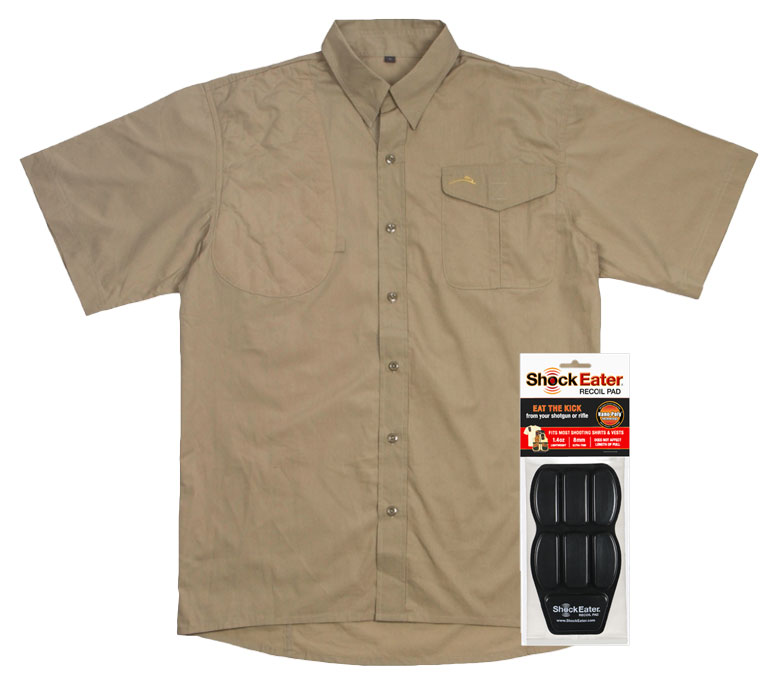 ShockEater Recoil Pad Button Up