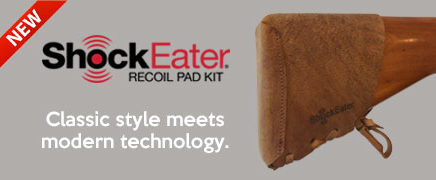 ShockEater Recoil Pad Kit -Leather
