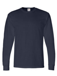 Mens-ShockEater-Shooting-Shirt-Long-Sleeve-Navy