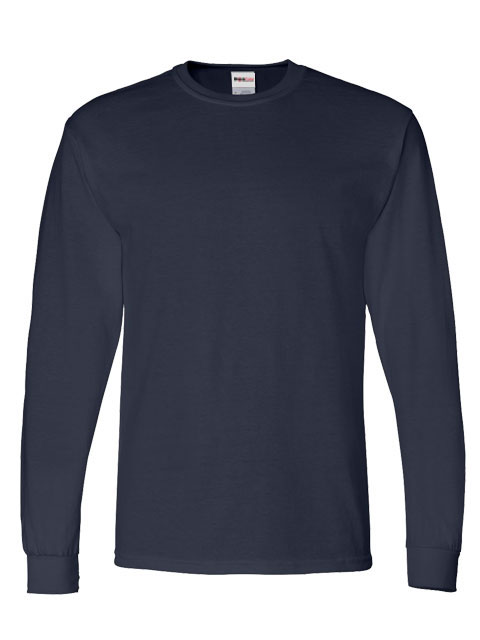 Mens-ShockEater-Shooting-Shirt-Long-Sleeve-Navy