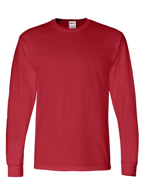 Mens-ShockEater-Shooting-Shirt-Long-Sleeve-Red