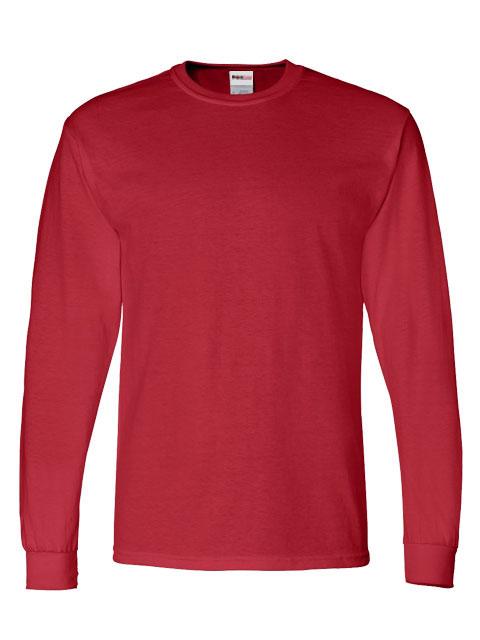 Mens-ShockEater-Shooting-Shirt-Long-Sleeve-Red