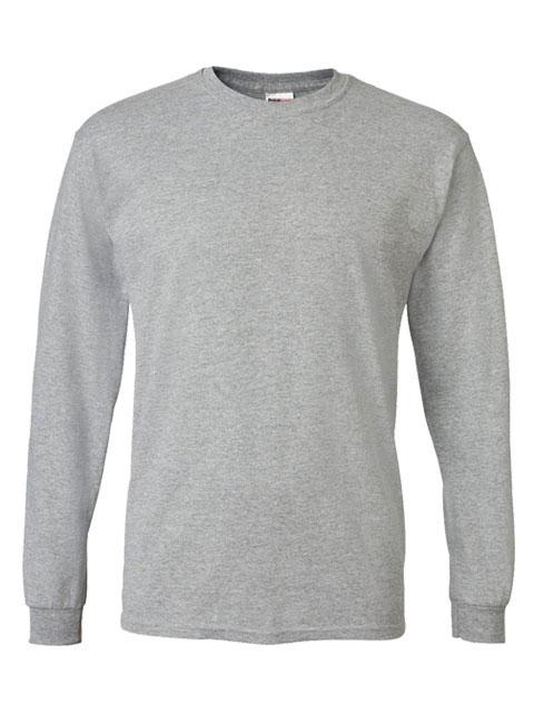 Mens-ShockEater-Shooting-Shirt-Long-Sleeve-Sport Grey