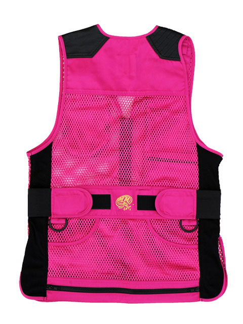 MizMac-Perfect-Fit-Mesh-Vest-Pink: ShockEater