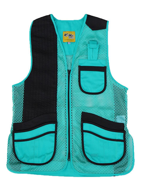 MizMac-Perfect-Fit-Mesh-Vest-Turquoise: ShockEater
