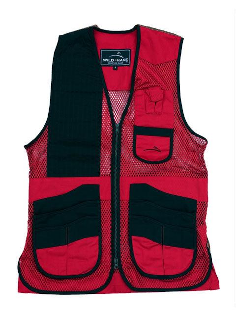Wild-Hare-Heatwave-Mesh Vest-Red: ShockEater