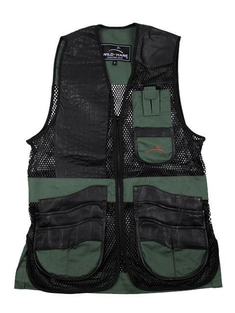 Wild-Hare-Range-Mesh-Vest-Green-Black: ShockEater