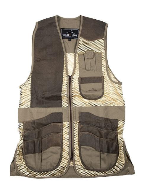 Wild-Hare-Range-Mesh-Vest-Sage-Khaki: ShockEater