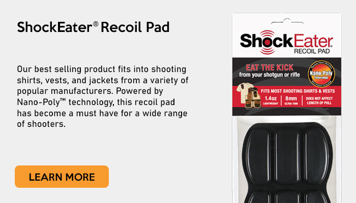 ShockEater Recoil Pad - ShockEater.com
