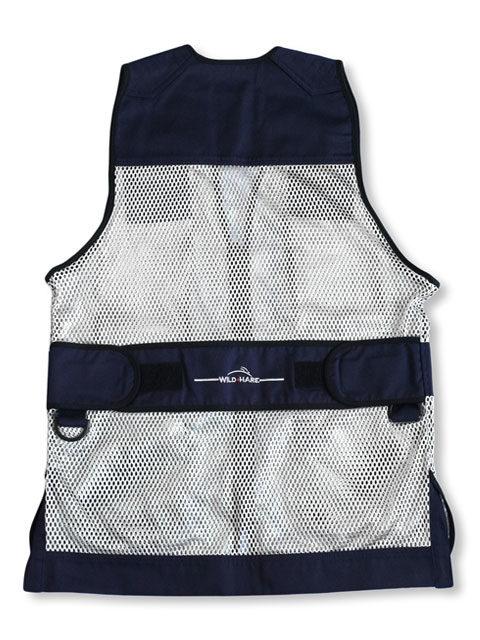 Wild-Hare-Primer-Mesh-Vest-Navy-Silver: ShockEater