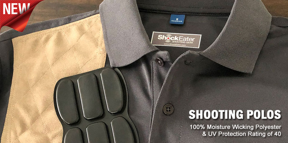 ShockEater Shooting Polo Shirt Learn More