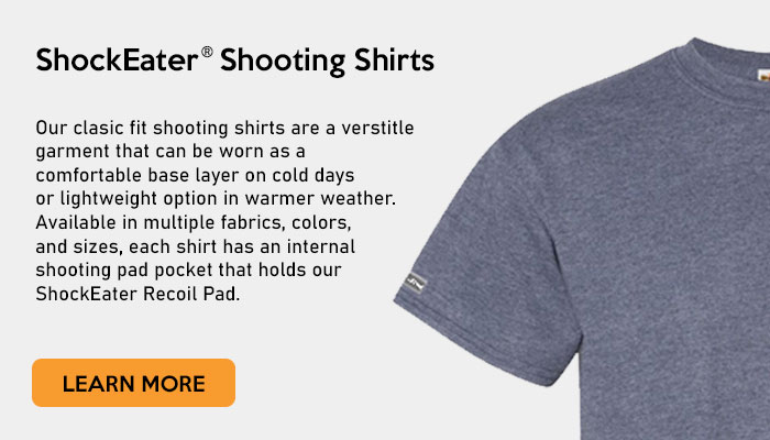 ShockEater Shooting Shirts - Learn More