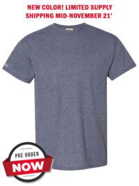 Mens-ShockEater-Shooting-Shirt-50-50-Heather-Navy