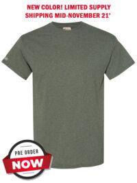 Mens-ShockEater-Shooting-Shirt-50-50-Military-Green